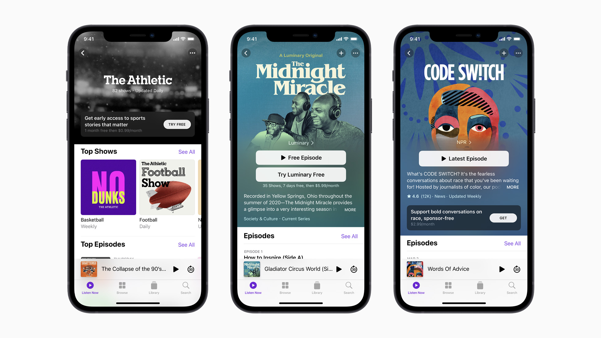 Apple introduceert Apple Podcasts Subscriptions